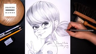 Drawing Sketch Miraculous - Ladybug [Drawing Hands]