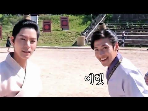 MOON LOVERS Kamera Arkası 4 (Scarlet Heart: Ryeo)