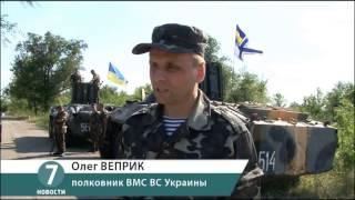 Учения морских пехотинцев в Болграде напугали местных жителей