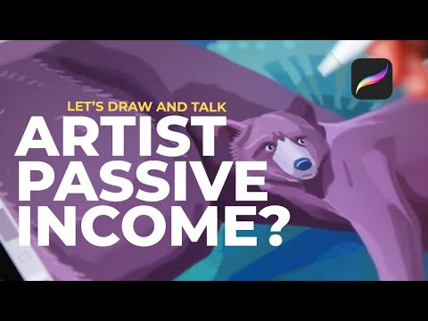 PASSIVE INCOME for Artists - Is it worth it? my Society6 earnings & closing my Etsy Shop