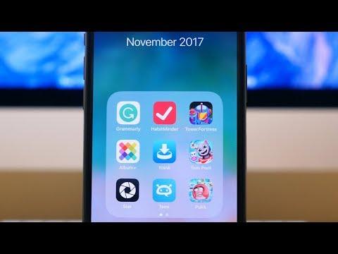 Top 10 iOS Apps of November 2017!