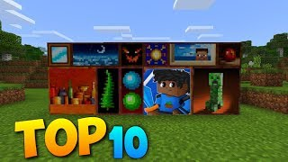 TOP 10 Custom paintings in MCPE Minecraft Pocket Edition