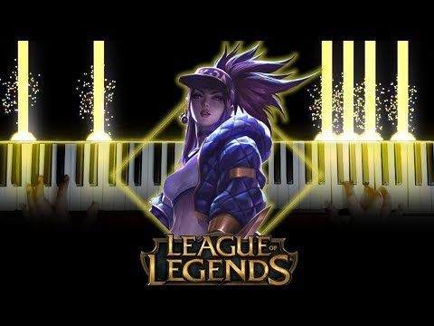 "[League of Legends] ""POP/STARS"" - K/DA ft. Madison Beer, (G)I-DLE, Jaira Burns (Piano)"