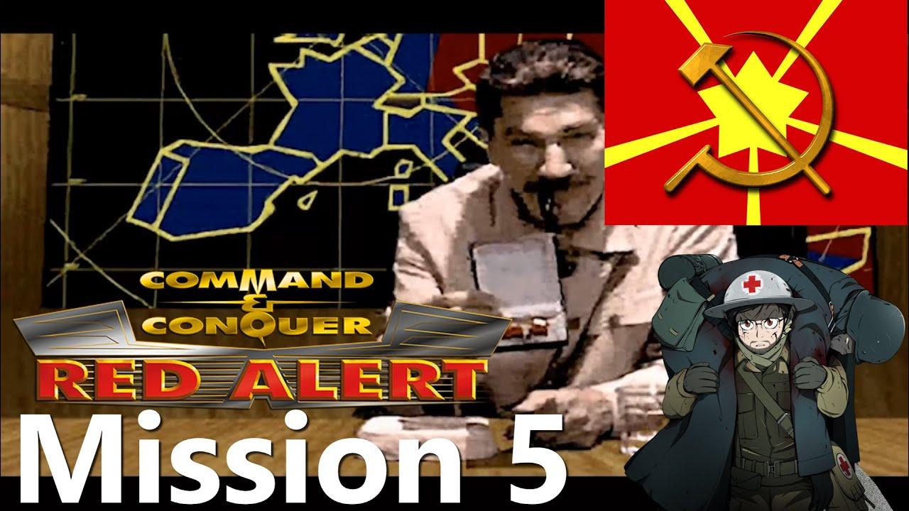 Command & Conquer Remastered: Red Alert 1 - Soviet Mission #5 Distant Thunder
