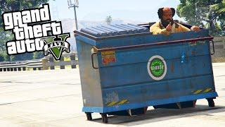 GTA 5 Funny Vehicles #4 - Mr. Bean's Mini, Dumpster, Twizy and More [Mod Showcase]