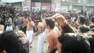 10 muharram 2011 zanjeer zani sheikhupura asif