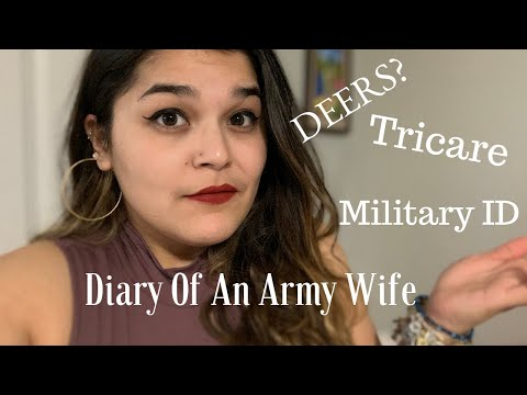 Diary Of An Army Wife: DEERS Horror Story?! | How To Get Your Military ID & Tricare