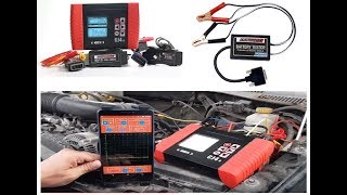 ESCANNER CJ4R  PR MERAS PRUEBAS EN EL TALLER Osciloscopio y Tester de Baterias