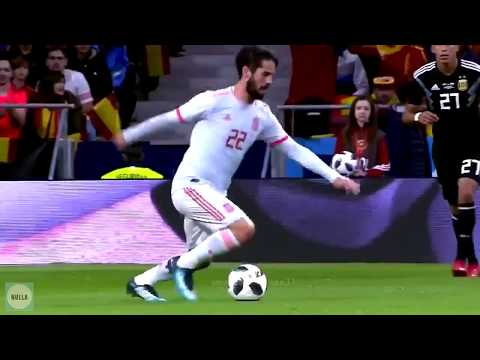 savage Isco ruining Argentina's day (All Isco skills and passes vs Argentina)