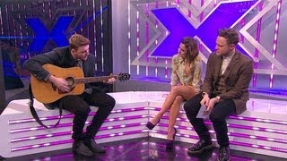 Watch James Arthur sing another of his OWN songs! - The Xtra Factor - The X Factor UK 2012