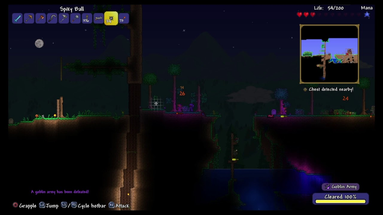 WTF Naked In Terraria ? - YouTube