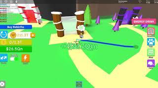 Roblox Magnet Simulator zdobywanie 200k rebirthów (cz.1)