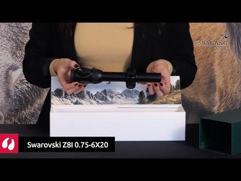 Visor Swarovski Z8I 0.75-6X20. La Armería de Cazavisión