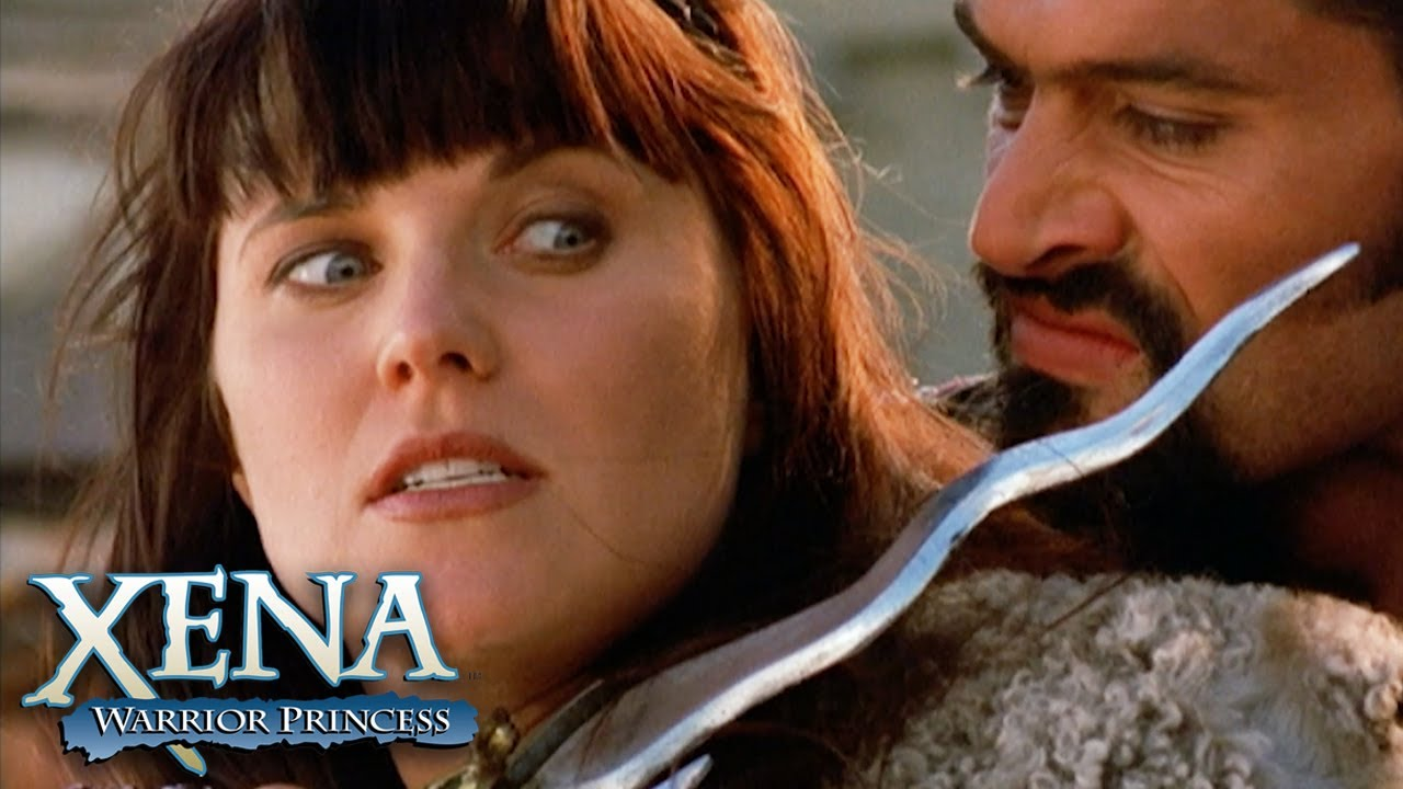 Download Xena and Gabrielle Stand Against Ares | Xena: Warrior Princess