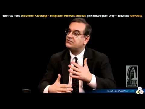 Immigration and Multiculturalism - Mark Krikorian