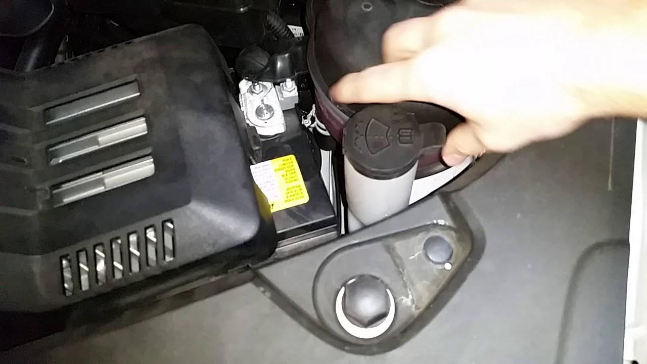 2010 2016 Gmc Terrain Suv How To Fill Windshield Washer
