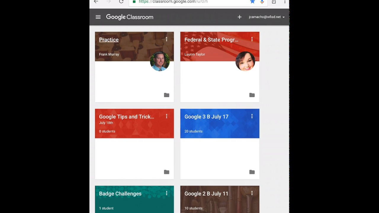 Google Doc turn into Google Classroom from iPad