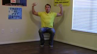 15 Min Work Workout - How To Exercise At Work - Hasfit Office Exercises - Desk Exercises At Work