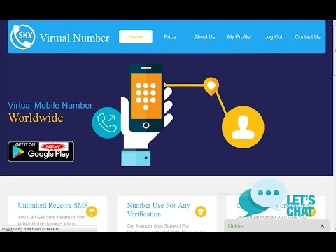 Virtual Number For Paypal verification.