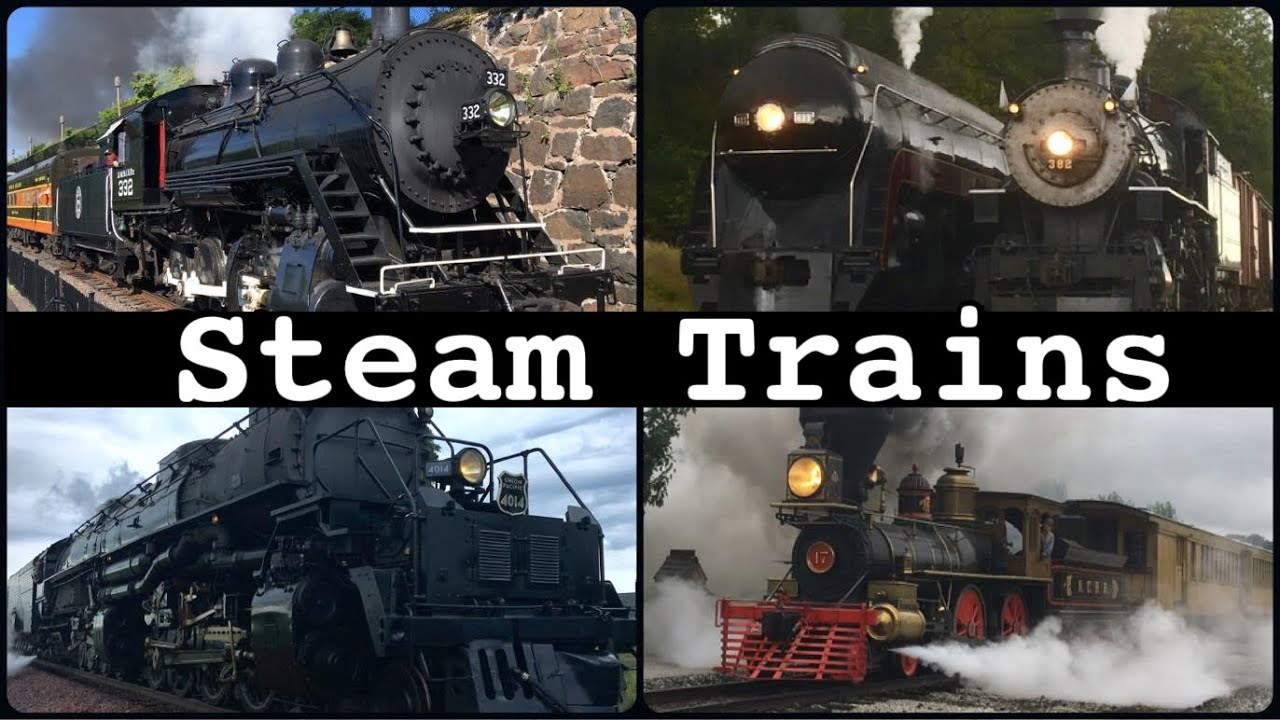 20 Steam Trains in 50 Minutes (40,000 SUB SPECIAL)
