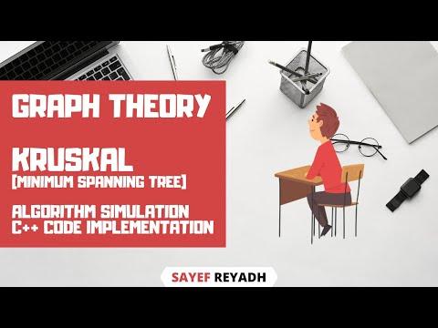 Kruskal's Algorithm Simulation C++ Code in Bangla - বাংলা