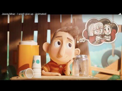 Jason Mraz - I won't give up - Animated