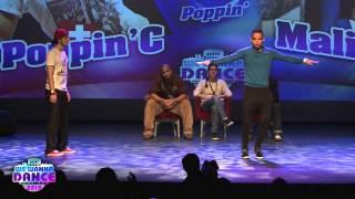 we wanna dance 2013 poppin c vs malikeys