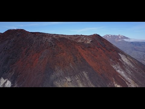 Mount Ngauruhoe, the Lord of the Volcanoes - Tongariro National Park - New Zealand 2017