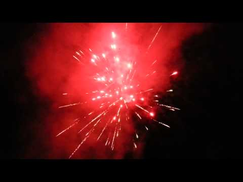 Paradise Estates Fireworks  4th of July 2014 Ashford Washington