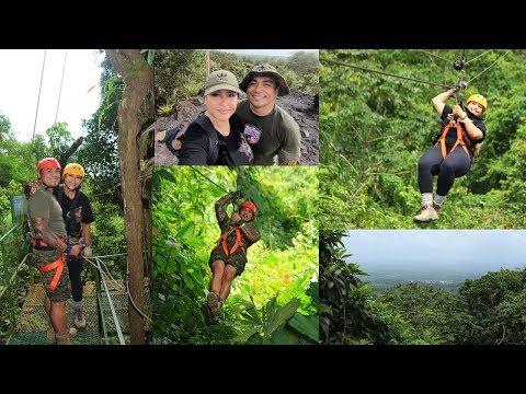 ZIPLINING & HIKING ARENAL IN COSTA RICA