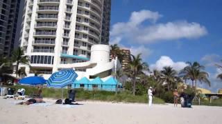 № 227 США MIAMI SUNNY Isles Fl Русалка на Пляже Майми