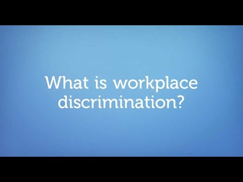 What is Workplace Discrimination?