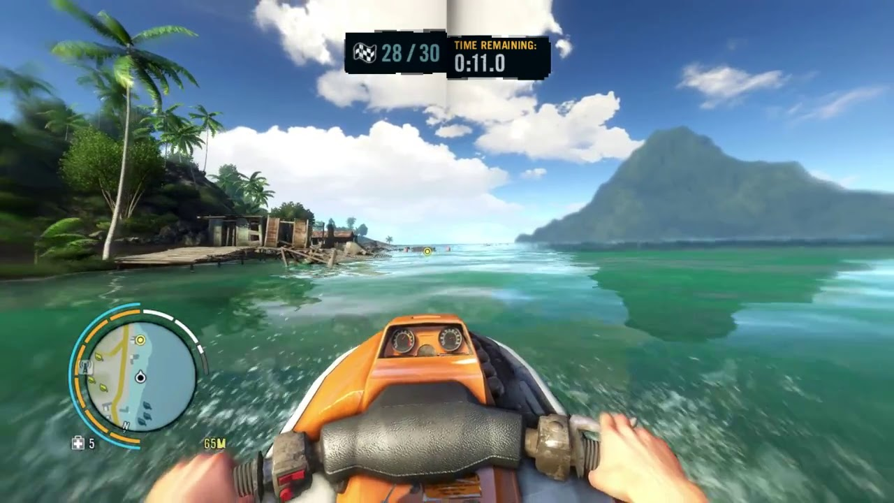 Far Cry 3 Water Snake Run Challange Gameplay Pc Hd Youtube