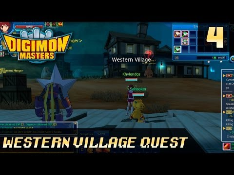 Digimon Masters Online - DMO | 4. Western Village Quest Guide 1