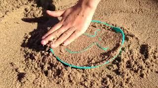 Формочка для песка, снега и ванны Quut StarFish