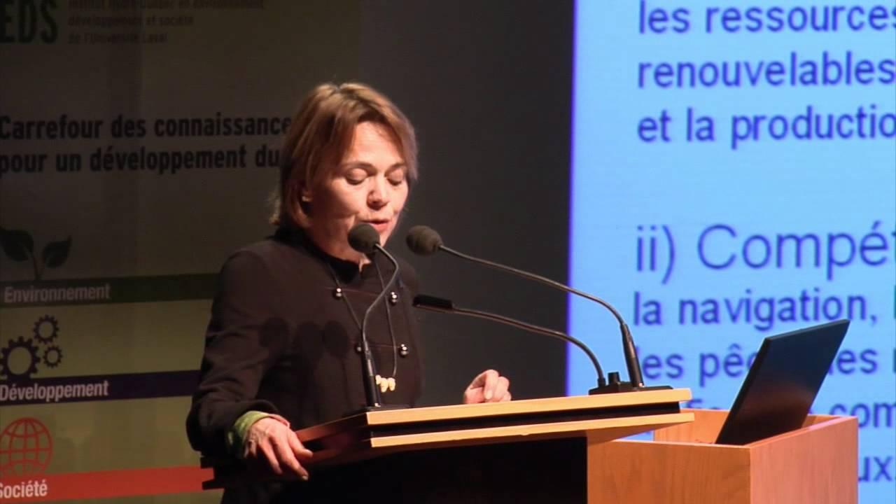 Paule Halley - L'eau, patrimoine de la nation québécoise (1/4)