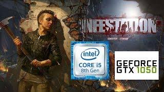 i5 8600k | Gtx 1050ti | 8gb ram | Infestation NewZ | Ultra settings