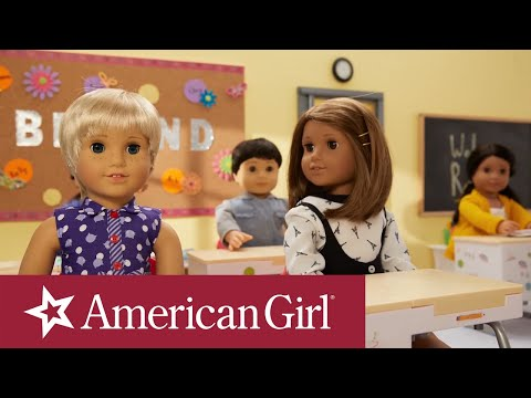American Girl Back To School Stop Motion | American Girl
