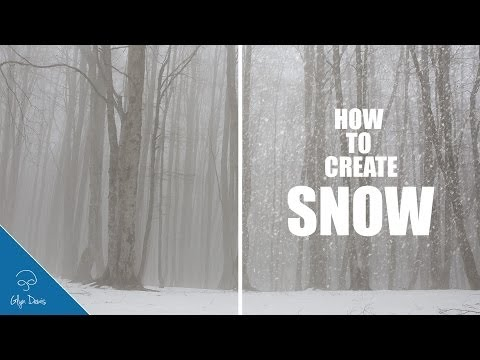 PHOTOSHOP TUTORIAL: How To Create Realistic Falling Snow #30