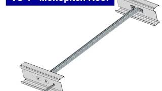 Purlin & Rails - Vertical Struts