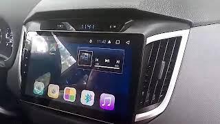 Обзор установленной в авто магнитолы Hyundai ix25