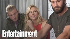 Viking Cast Members Tease Season 3 & Talk Working Out At Comic-Con | Entertainment Weekly