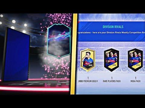 OTW WALKOUT!!! 3X FUT DIVISION RIVAL REWARDS! (FIFA 19)