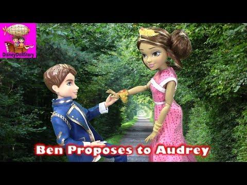 ben-proposes-to-audrey---part-1--ben-and-audrey-series-descendants-disney