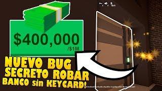 * NEU* TIPP ZU ROB BANK OHNE CARD UND GET MILLIONS OF DOLARES IN JAILBREAK!! Roblox