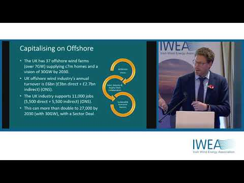 Offshore wind forum - Alex Meredith, Offshore Investment, innogy -'Lessons from the UK.'