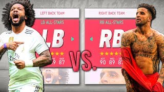 Right Back ALL-STARS vs. Left Back ALL-STARS! - FIFA 20 Career Mode
