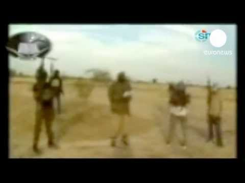 Nigeria kidnapping_ hostage photo shown on TV.flv