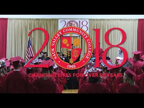 2018 Sauk Valley Community College Commencement Ceremony