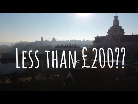 The £200 Eurotrip Challenge - VILNIUS - Vlog